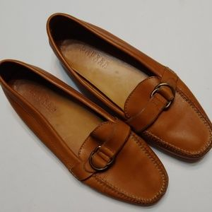 Lauren by Ralph Lauren tan loafers